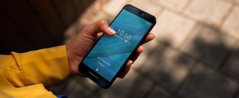 Duurzame Fairphone 3-smartphone is eenvoudig te repareren