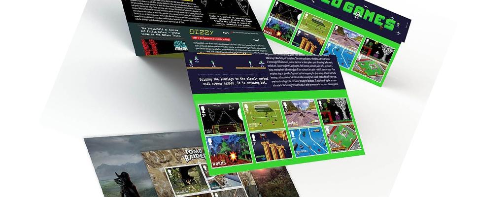 Postzegels vieren Britse gameindustrie