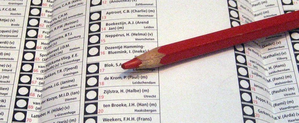 VVD wil verkiezingen weer via stemcomputers