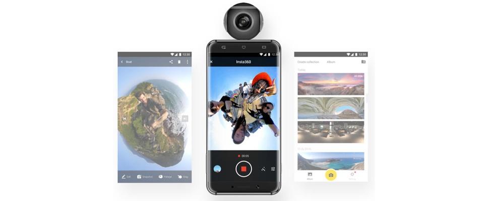 Insta360 Air: goedkope vr-camera voor Android-telefoons