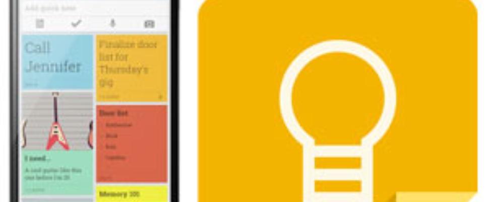 Google Keep notitie-app