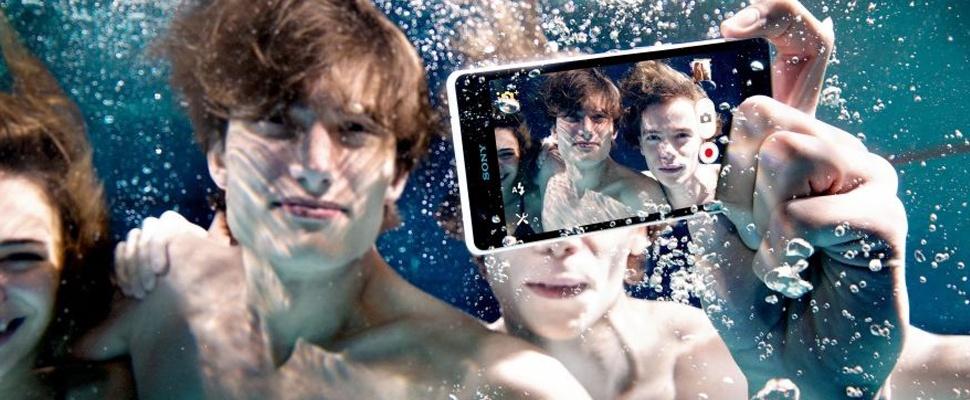 Sony: 'Gebruik je waterdichte Xperia-smartphone niet onder water'