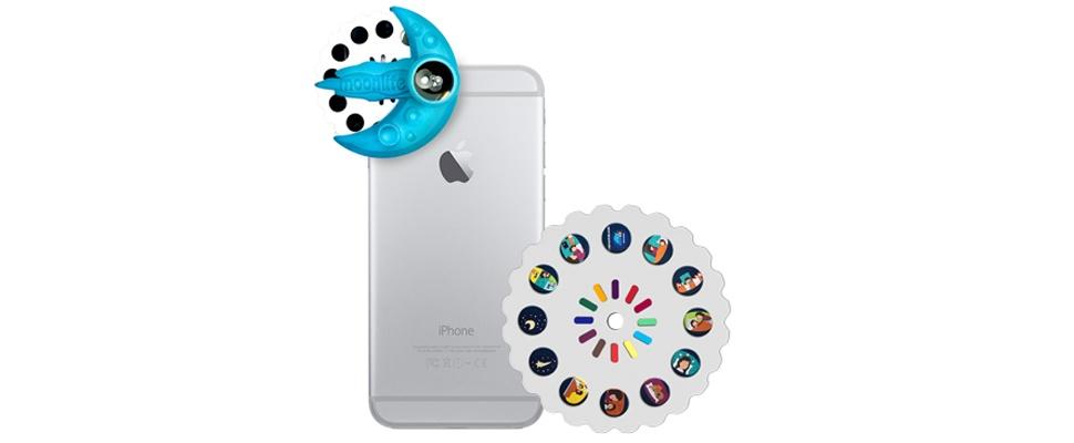 Moonlite is mini-beamer voor smartphone