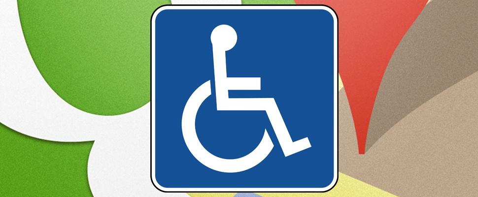 Google Maps toont rolstoelvriendelijke plekken