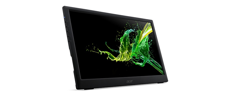 Acer PM161Q: Extra beeld met externe monitor