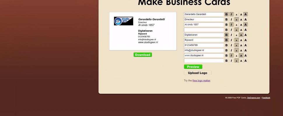 Visitekaartjes maken met make business cards computer idee visitekaartjes maken met make business cards 2017 12 14t090000 2017 12 06t171822 reheart Image collections
