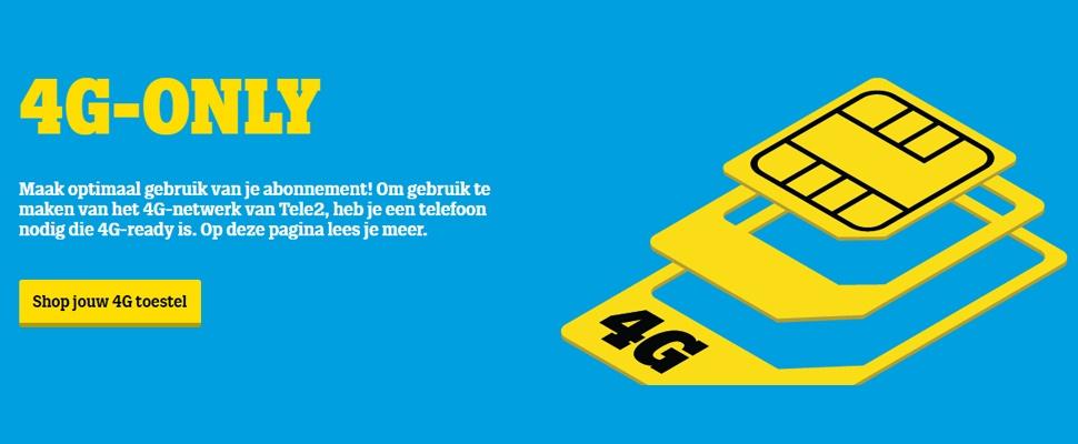 Tele2 weert 3G-telefoons nieuwe klanten van netwerk