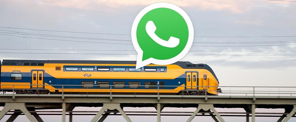 Overlast in NS-treinen krap 2500 keer via WhatsApp gemeld