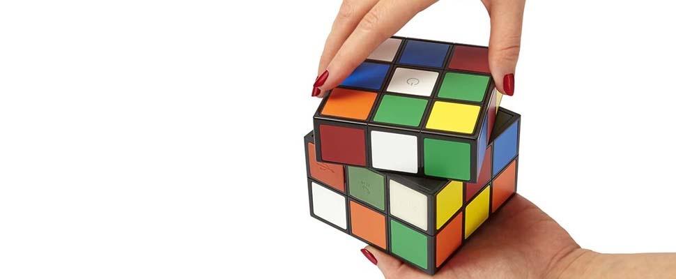Win een Rubik's Cube-speaker van Bigben