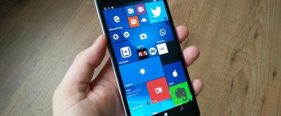 Microsoft rolt Creators Update uit voor Windows 10 Mobile