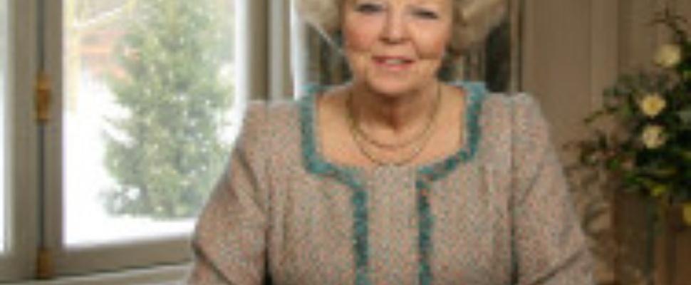 Kersttoespraak koningin Beatrix geeft af op internet