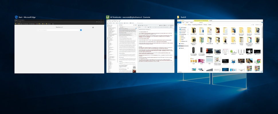 Windows 10: Virtuele bureaubladen en 'Taakweergave'