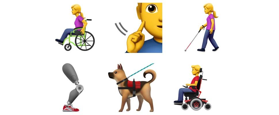 Apple wil emoji voor mensen met beperking