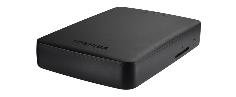 Toshiba Canvio Aerocast streamt ook naar Chromecast