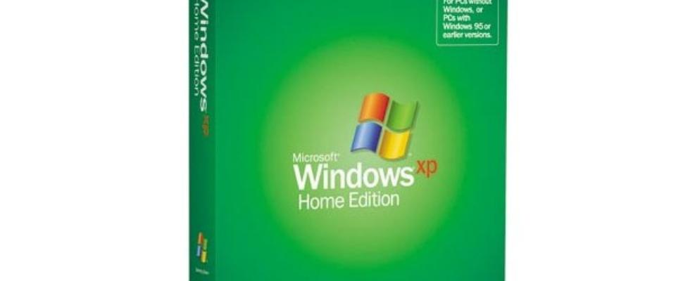Marktaandeel Windows XP loopt langzaam terug
