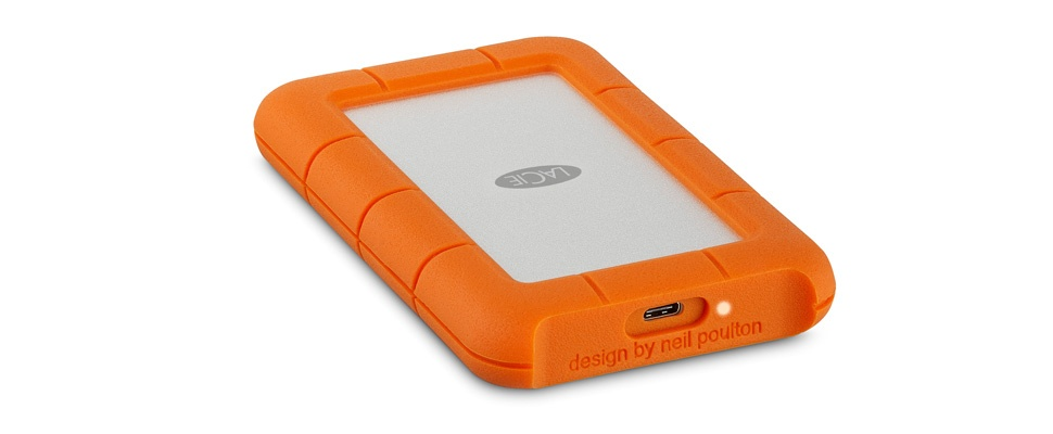 LaCie Rugged ook over op usb-c