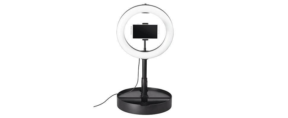SpotLight FoldUp 102 licht smartphone-video's bij