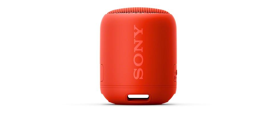 Sony SRS-XB12-speaker voor mee naar het strand