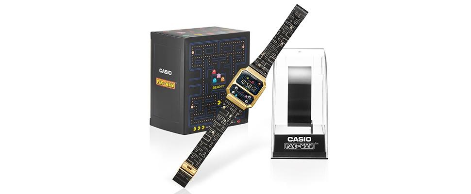 Terug naar de 80's met Casio's Pac-Man-horloge