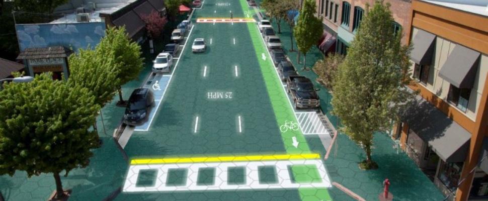 Solar Roadways is écht de weg van de toekomst
