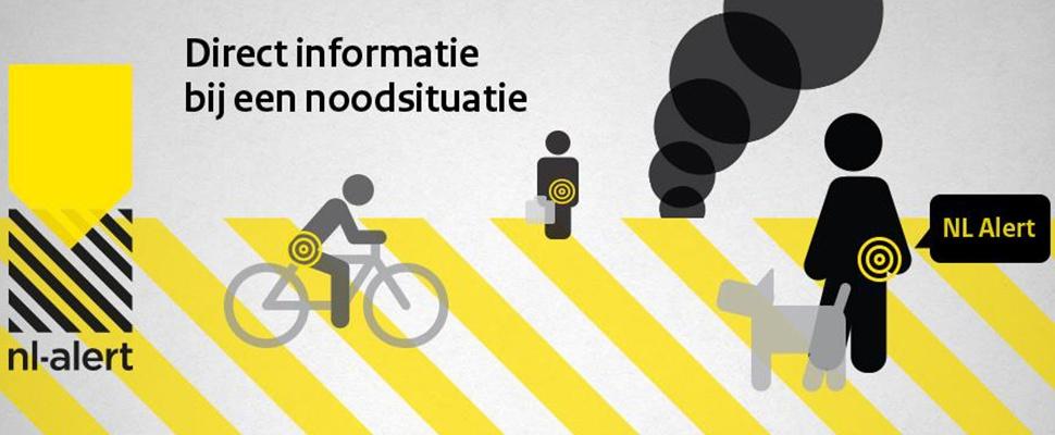 NL-Alert ontvangen door driekwart van Nederlanders