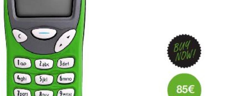 Klassieke Nokia 3210 weer beschikbaar