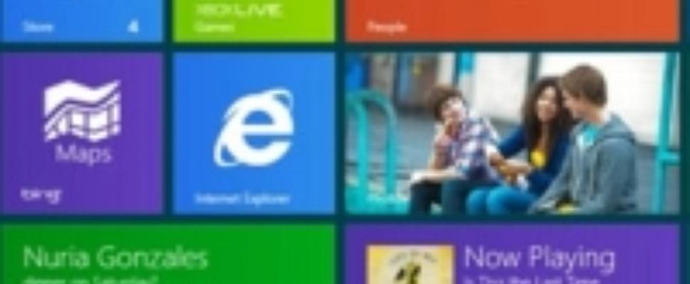 Verkopen Windows 8 vallen tegen