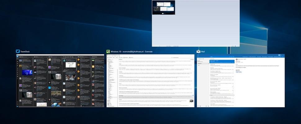 Overstap naar Windows 10 goed verlopen