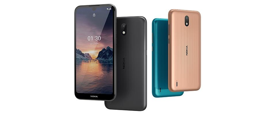 Nokia 1.3: Smartphone voor minder dan 200 euro