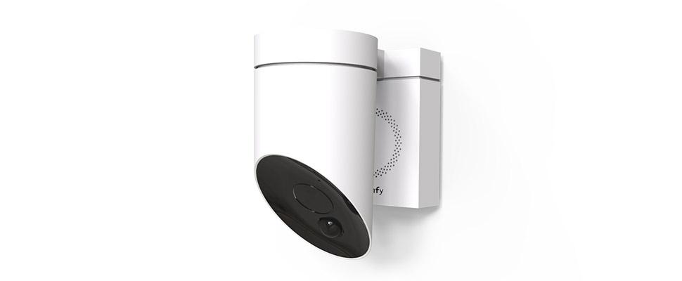 Somfy Outdoor Camera uitgerust met sirene