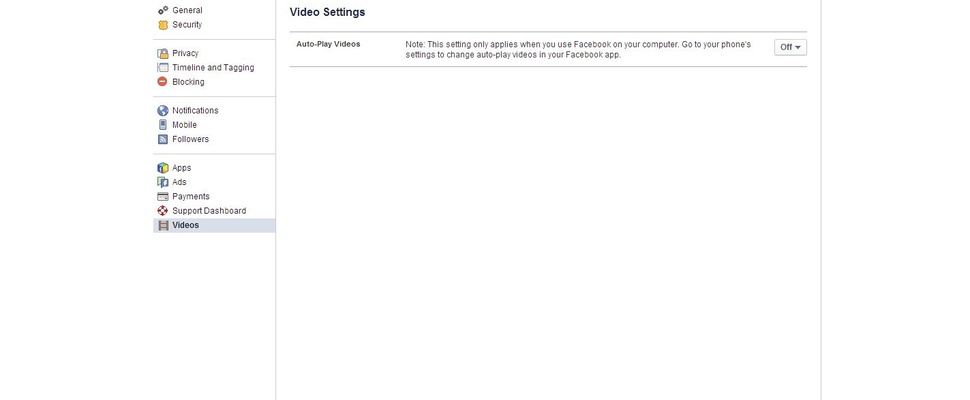 Zet automatisch afspelende filmpjes uit op Facebook