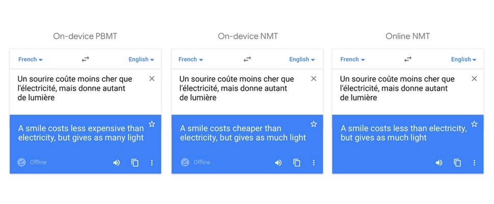Google Translate-app ook offline slimmer dankzij AI