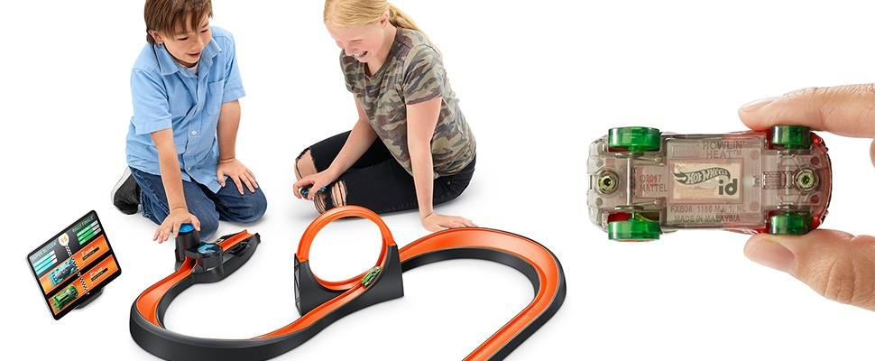 Hot Wheels weer hip door id Smart Track