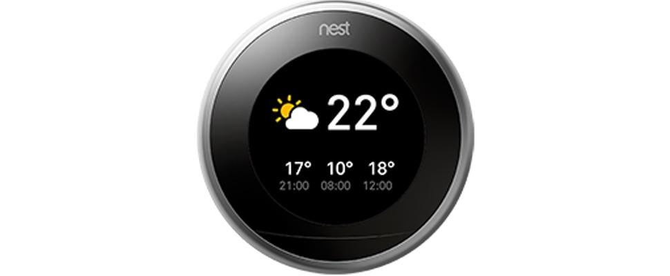 Nest-thermostaat toont voortaan ook weerbericht