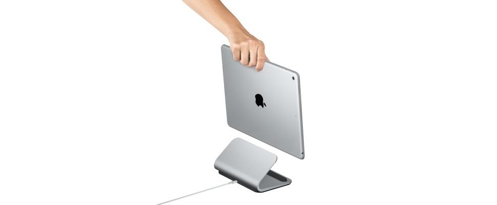 Logi Base is een iPad Pro-standaard in Apple-stijl