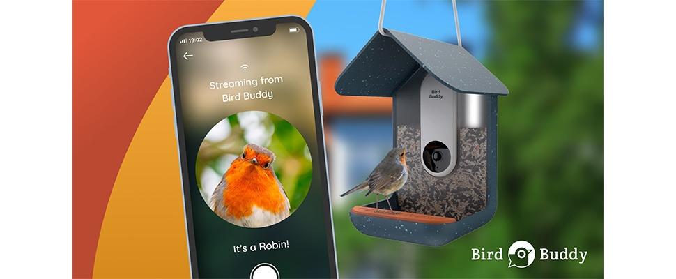Bird Buddy: Slim vogelhuisje spot gevederde vrienden