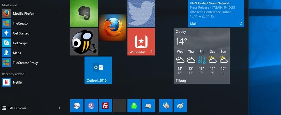 Maak mooiere tegels in het startmenu van Windows 10