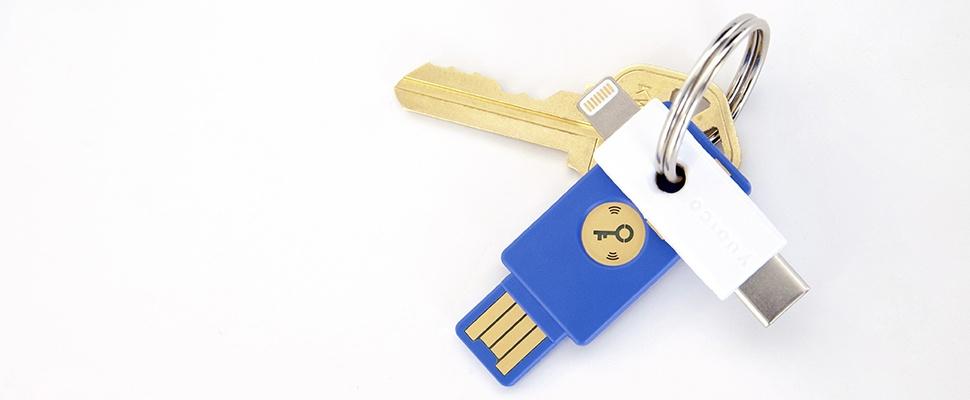 Security-stick YubiKey ook voor iPhone en Mac