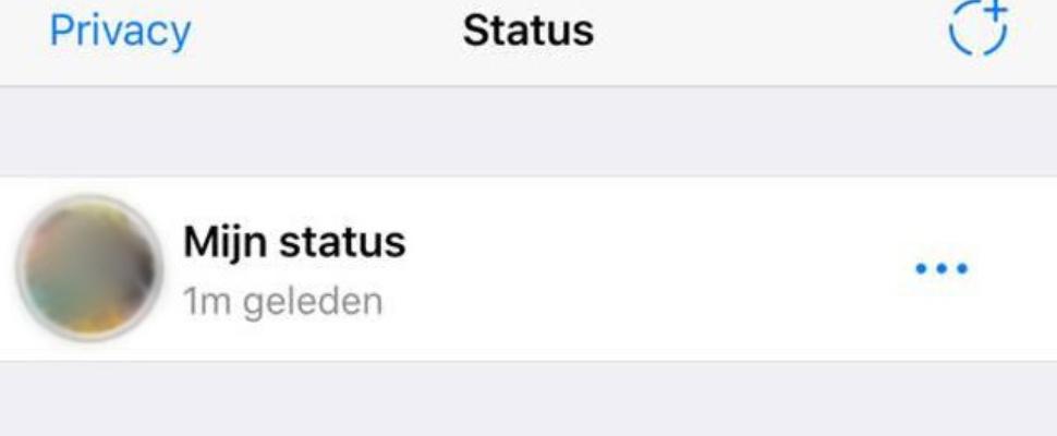 WhatsApp brengt 'oude' status terug