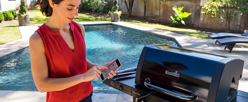 Appen en braden met Smartchef-barbecue