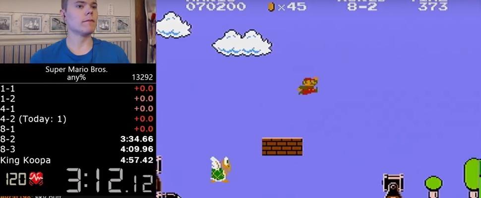 Kan Super Mario Bros. nóg sneller uitgespeeld worden?