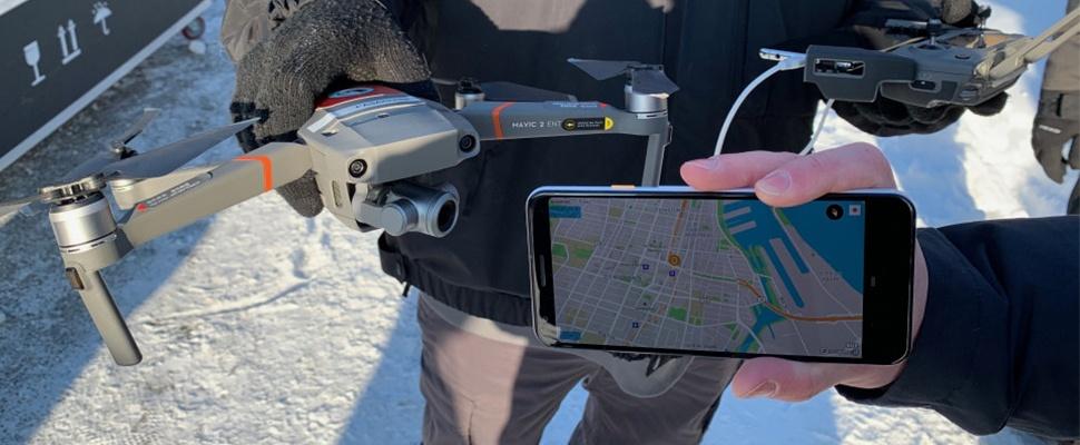 Remote ID-app van DJI helpt drones identificeren