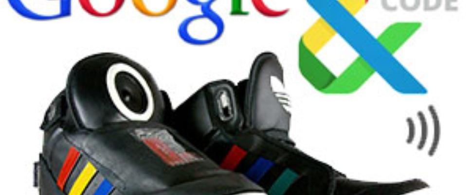 Verwonderend Google Shoe: Pratende schoen van Google | Computer Idee AI-31