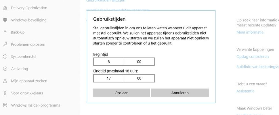 Automatische Windows-updates komen te vaak ongelegen