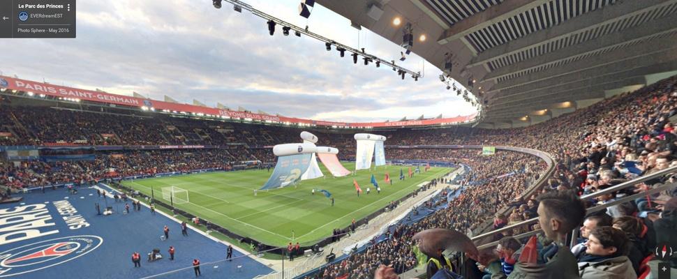 Bekijk de Franse EK-stadions in Google Streetview
