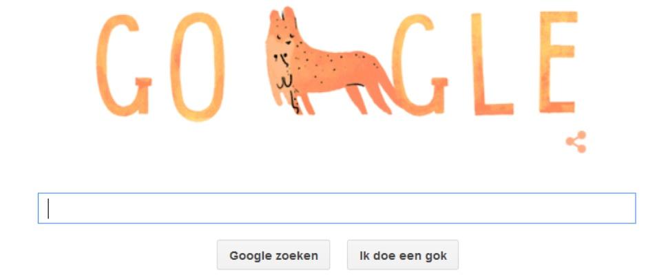 Fijne Moederdag 2015 gewenst door Google
