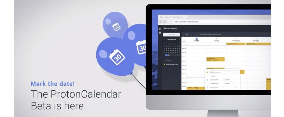 Makers ProtonMail lanceren versleutelde kalenderdienst
