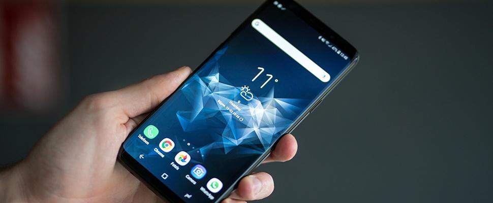 'Verkoop Samsung Galaxy S9 valt sterk tegen'