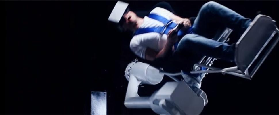 Nog misselijker in virtual reality met achtbaanstoel MMOne