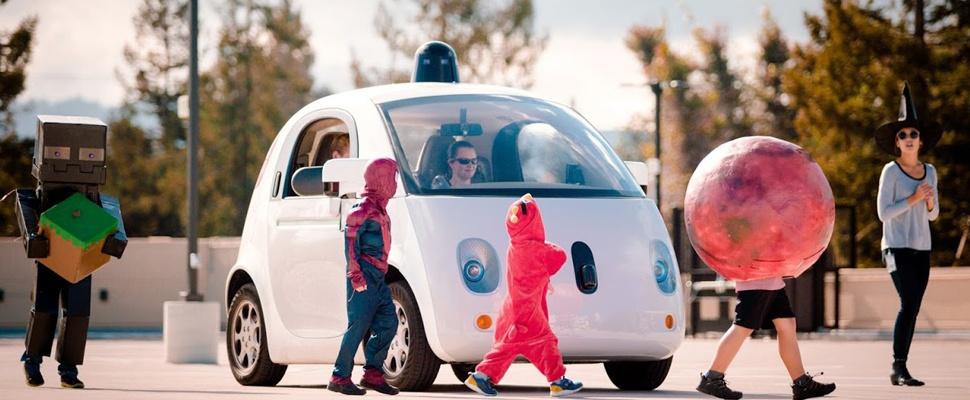 Google's zelfrijdende auto let op de kleintjes